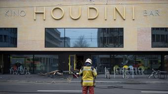 Wurde am 17. Februar ein Opfer der Flammen: Das Kino Houdini in der Zürcher Kalkbreite.