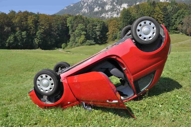 Da verlor sie die Kontrolle über ihr Auto und kam ins Schleudern.