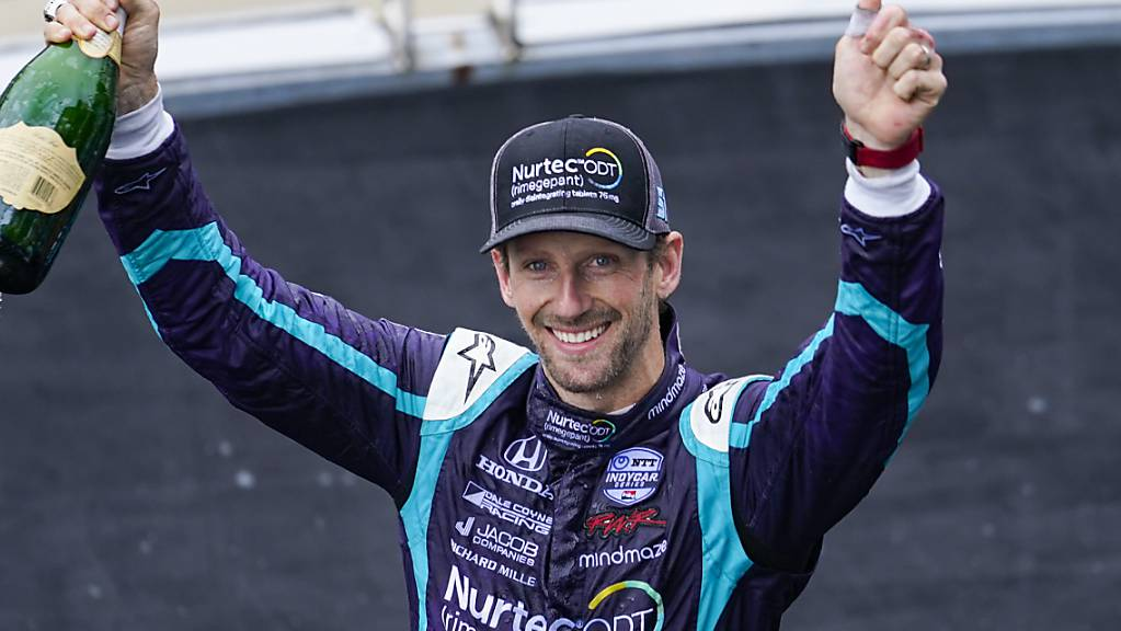 Romain Grosjean erreichte in Indianapolis zwei Wochen vor dem legendären Indy 500 seine bislang beste Klassierung in der IndyCar-Serie