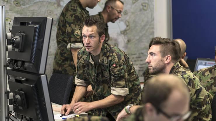 Nur 25 Soldaten der Schweizer Armee sind IT-Spezialisten.