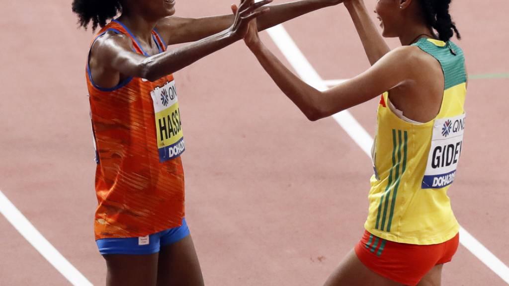 Äthiopierin Gidey verbesserte zwei Tagen alten Weltrekord