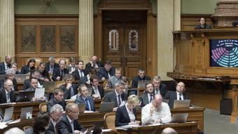 Die SVP-Fraktion bei der Budgetberatung am Dienstag im Nationalrat