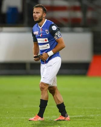 Captain Elsad Zverotic musste in dieser Saison schon öfter auf der Bank Platz nehmen.