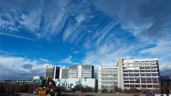 Am Basler Hauptsitz der Novartis sollen weitere Hochhäuser gegen den Himmel streben. Jobs sollen aber vorwiegend in Indien entstehen.