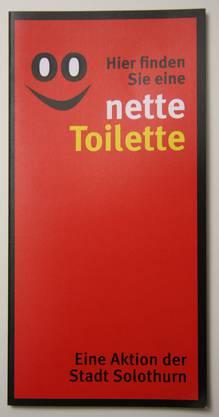 Bald auch in Schlieren: So sehen die Schilder in Solothurn aus.