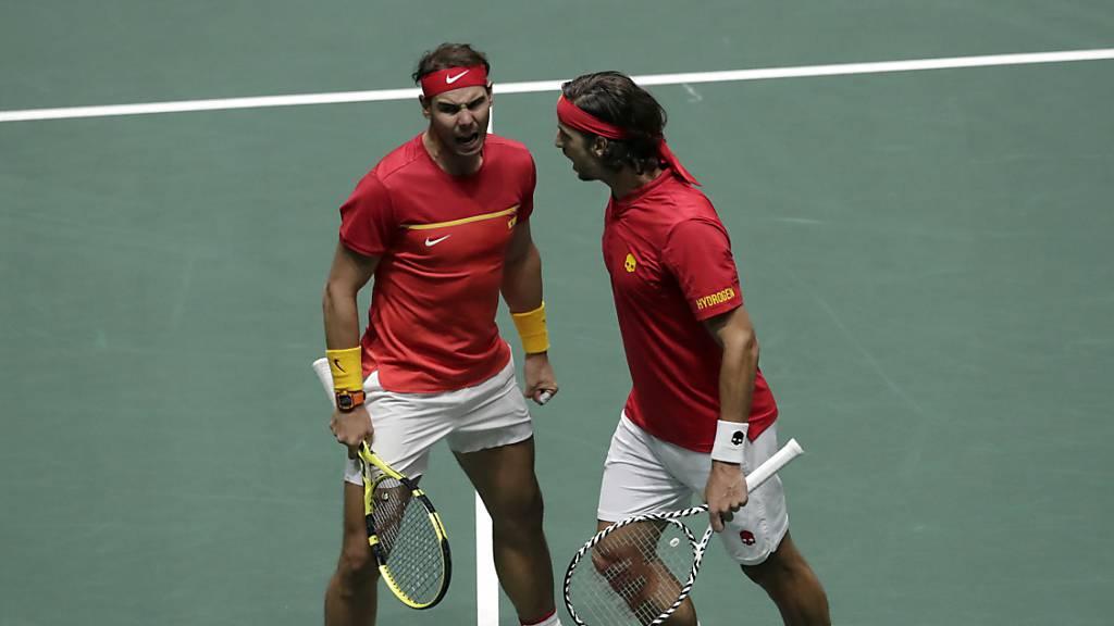 Spanien steht im Davis-Cup-Final