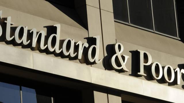 Das Logo von Standard&Poor's (Archiv)