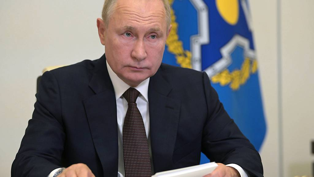 Putin vor Wahl: «Einige Dutzend» Corona-Fälle in persönlichem Umfeld
