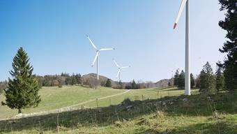 Eines der Traktanden: Der Windpark auf dem Grenchenberg.