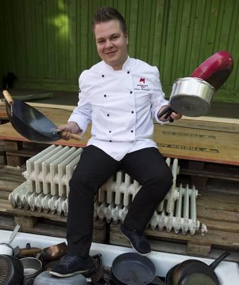 Hat den Traum, dereinst ein eigenes Restaurant zu führen: André Kneubühler.