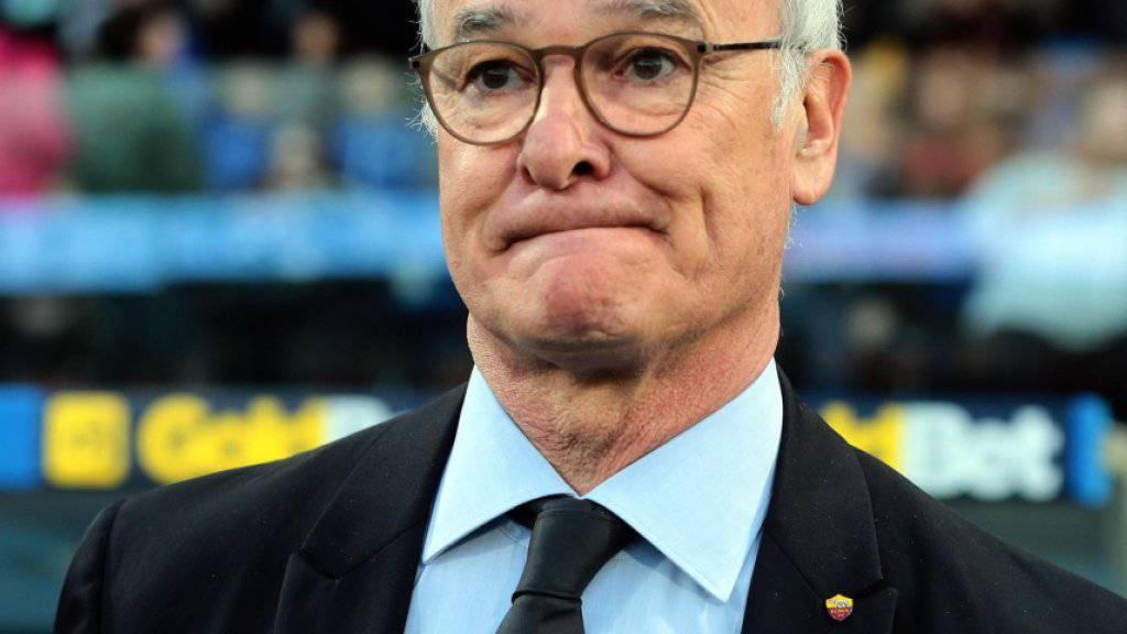 AS Roma auch unter Ranieri in Nöten