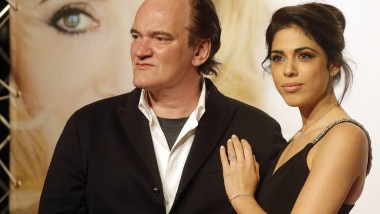 Die Chemie hat von Anfang an gestimmt. Nun will Regisseur Quentin Tarantino seine Freundin, die israelische Sängerin und Schauspielerin Daniela Pick, heiraten. (Archivbild)