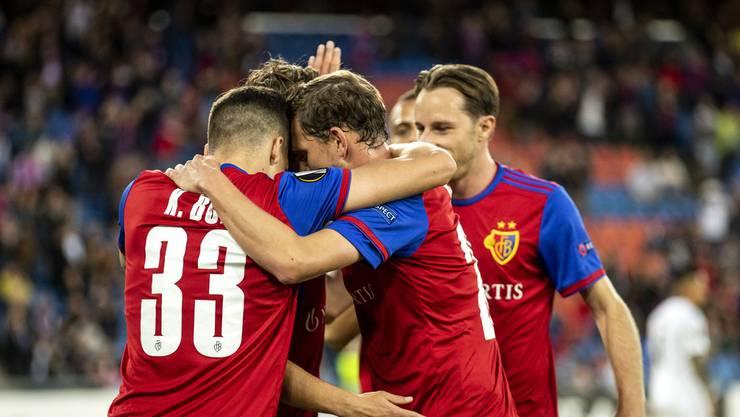 Der FC Basel konnte im Spiel gegen Krasnodar viel Selbstvertrauen tanken.