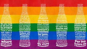 Landesweite Kampagne: Coca-Cola setzt sich für eine bunte Gesellschaft ein.