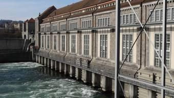 Der Geschäftssitz der Energiedienst Holding AG: Kraftwerk Laufenburg. – Foto: chr