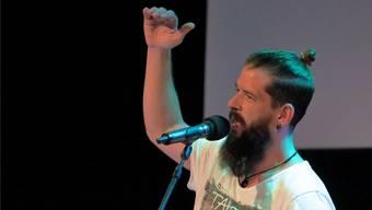 Vermochte das Publikum in seinen Bann zu ziehen: Der Bündner Jachen Wehrli.