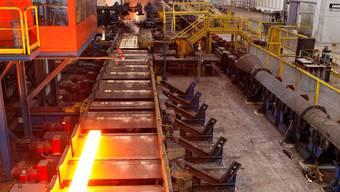 Die Stahl Gerlafingen braucht rund 1 Prozent des landesweiten Strombedarfs und leidet enorm unter den hohen Strompreisen. (Foto: Felix Gerber)