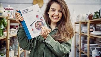 Nicole Giger und ihr neues Kochbuch