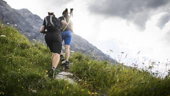 Wandern in den Bergen? Die nächsten Tage versprechen herrliches Wetter. (Archivbild)