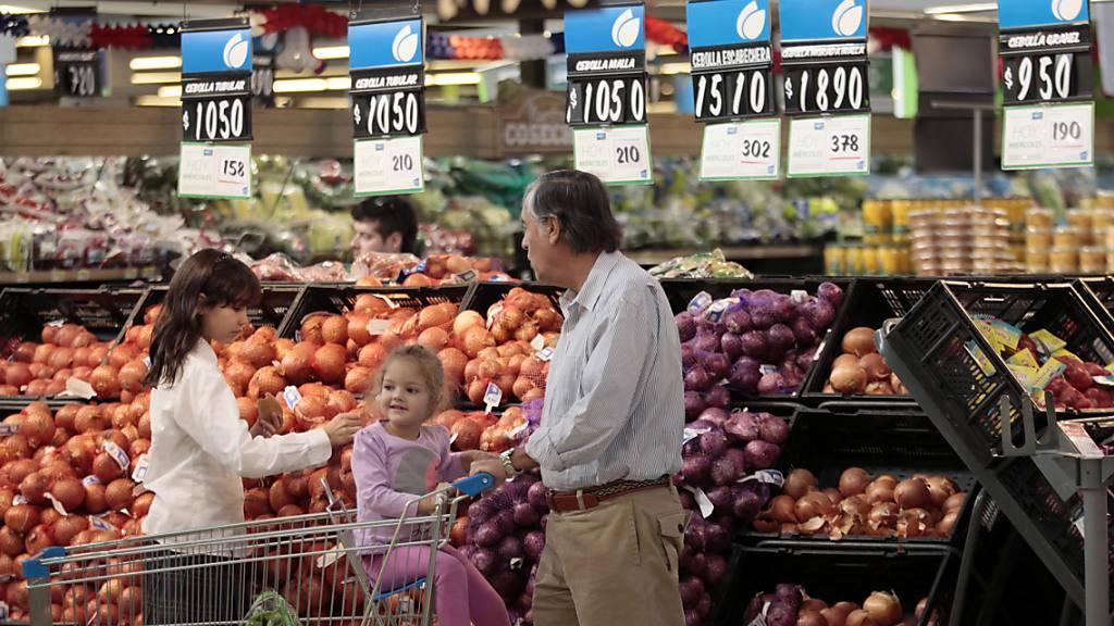 Die Umsätze der US-Einzelhändler stagnieren überraschend. (Archiv)