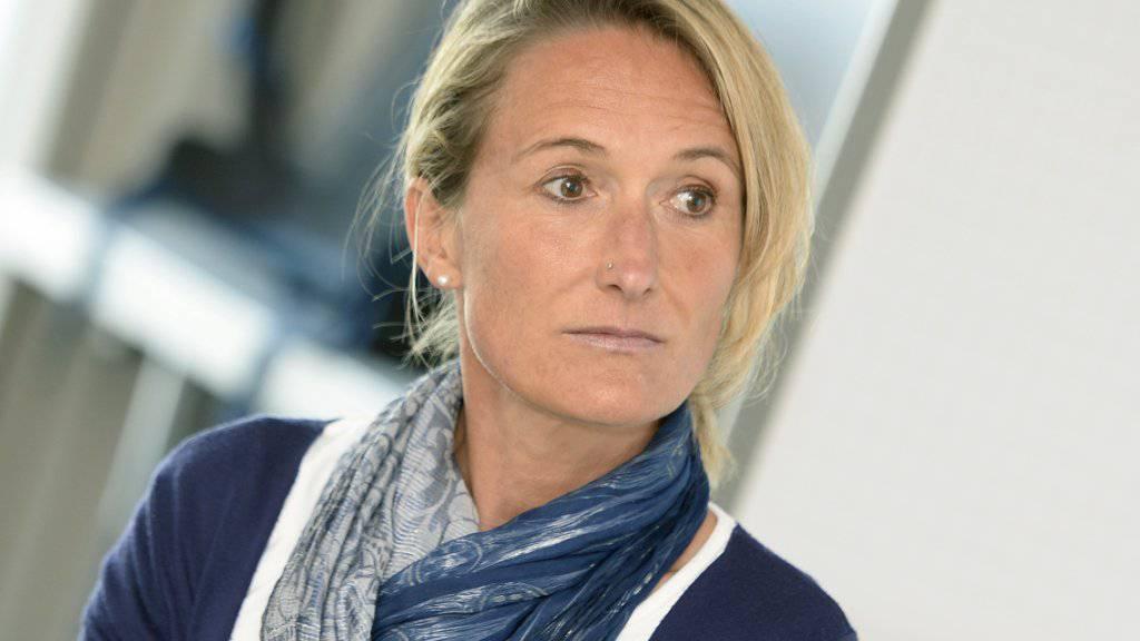 """Es sei wichtig, dass Flüchtlingen von Anfang erklärt werde, """"wie es hier läuft und was wir von ihnen verlangen"""", sagt die abtretende Aargauer Regierungsrätin Susanne Hochuli (Grüne)."""