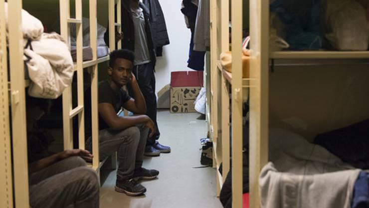 Den Asylsuchenden fehlt es an Struktur.