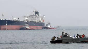 Nach dem Festsetzen von Tankern durch Iran im Persischen Golf konnten zwei iranische Frachtschiffe, die unter US-Sanktionen in Brasilien litten, ihre Fahrt wieder aufnehmen. (Symbolbild)