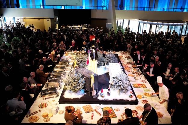 Neujahrsempfang des Basler Gewerbeverbands im Theater Basel.