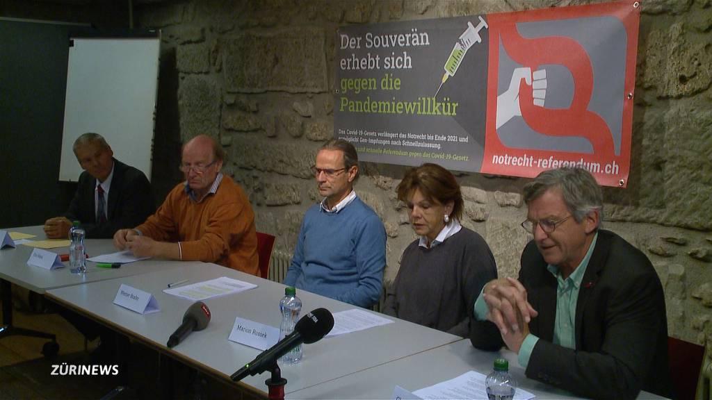 Covid-19-Gesetz: Unterschriftensammlung für Referendum gestartet