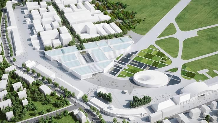 So soll der Innovationspark aussehen. (Archiv)