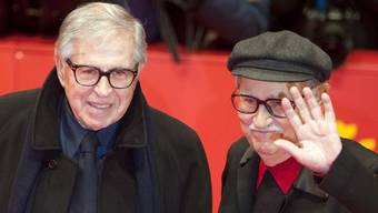 Gold gewonnen: Vittorio (l.) und Paolo Taviani in Berlin
