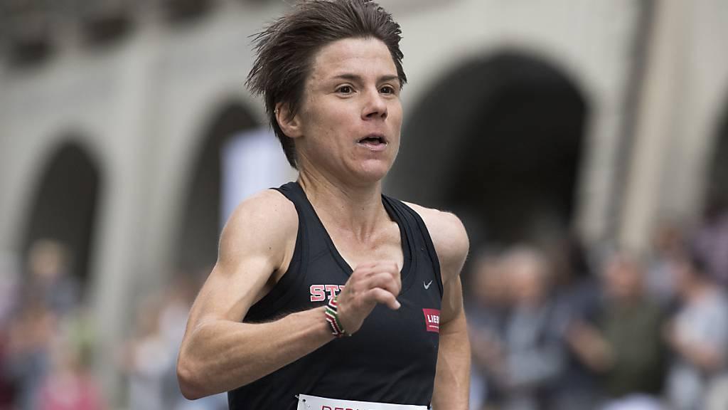 Maja Neuenschwander hält den Schweizer Rekord im Marathon. (Archivbild)