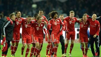 Bereits sieben Runden vor Schluss wird der FC Bayern-München zum 24. Mal Bundesliga-Meister.