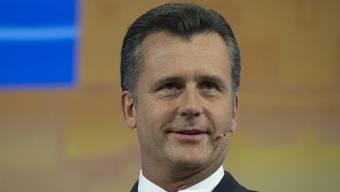 Der ehemalige SNB-Präsident Philipp Hildebrand nahm in Interlaken an einer Diskussionsrunde teil