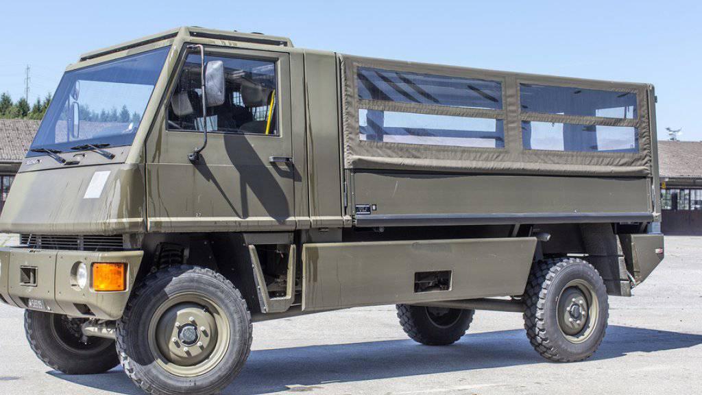 Der Duro-Mannschaftstransporter wird mit einem anderen Motor ausgerüstet. (Archivbild)