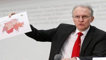 Ein Land, zwei Wirtschaftsverbände: Hans-Ulrich Bigler, Präsident des Schweizerischen Gewerbeverbands.