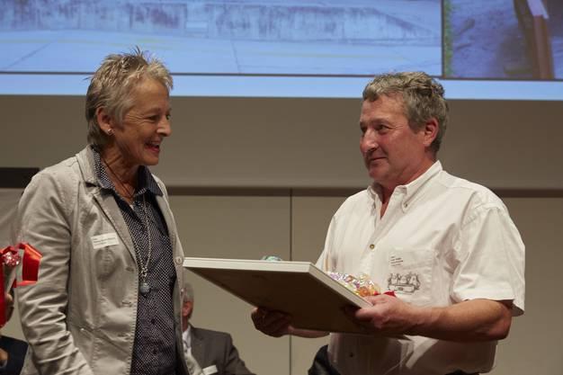 Die Naturfreunde Gränichen erhielten den Preis in der Kategorie Umwelt