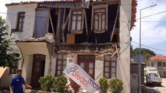 Dieses Haus in der Türkei wurde komplett zerstört