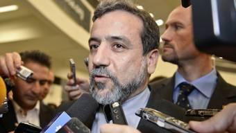 Der iranische Chefunterhändler Abbas Araktschi (Archiv)