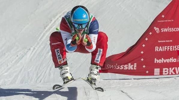 Super! Marc Bischofberger holt sich seinen dritten Sieg im Weltcup.