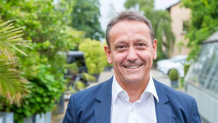 André Bender (SVP) Gemeindepräsident von Oberengstringen