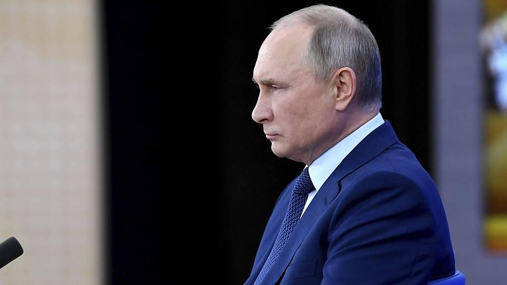 Wladimir Putin, Präsident von Russland. Foto: Aleksey Nikolskyi/Kremlin Pool/Planet Pix via ZUMA Wire/dpa