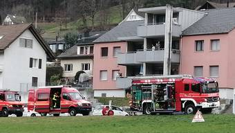 Brand in Teufenthal am 23. Februar 2020