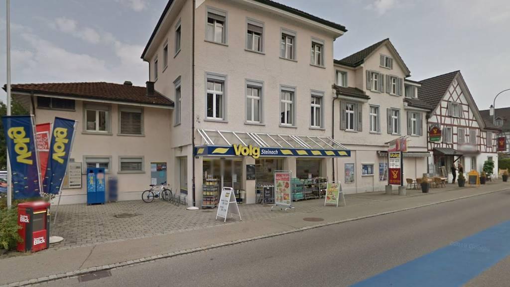 Überfall auf Volg in Steinach