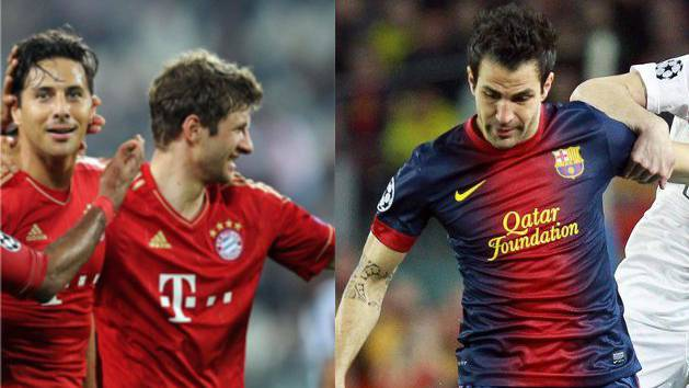 Bayern war souverän, Barçca musste zitten.