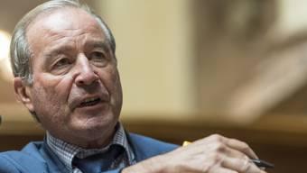 Maximilian Reimann sitzt seit 2011 wieder für die Aargauer SVP im Nationalrat. Zuvor war er 16 Jahre lang Ständerat. Von 1987 bis 1995 war Reimann bereits Mitglied im Nationalrat.