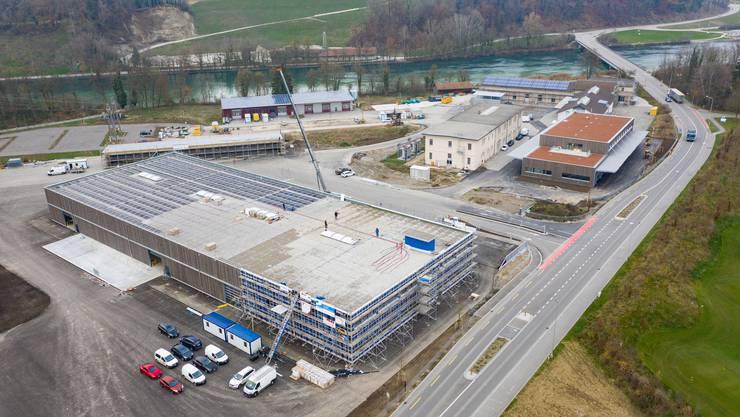 Der neue BKW-Werkhof in der Übersicht.
