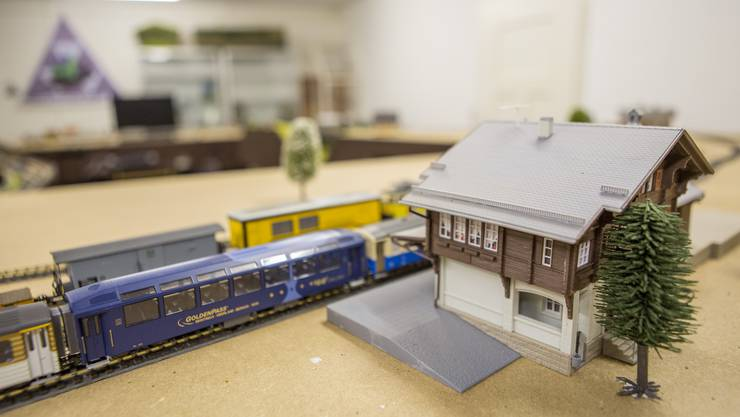 Die Anlage von MEGA (Modul Eisenbahn Gruppe Aare)