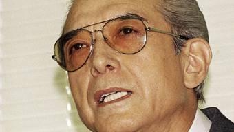 Hiroshi Yamauchi auf einem Bild von 1992 (Archiv)