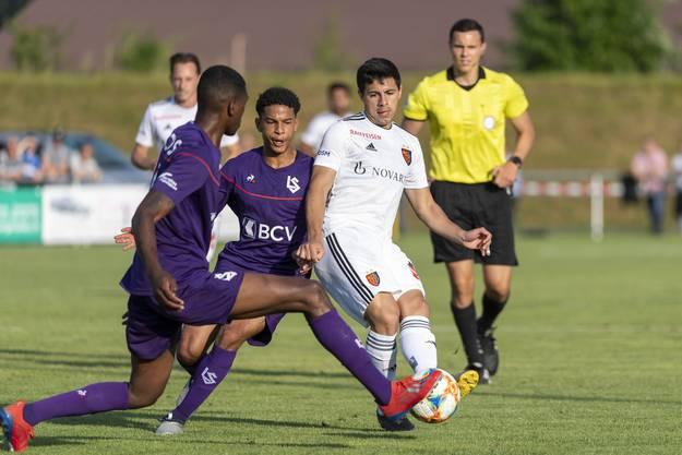 Der FCB gewinnt gegen Lausanne - auch dank Blas Riveros' Tor zum 3:1.